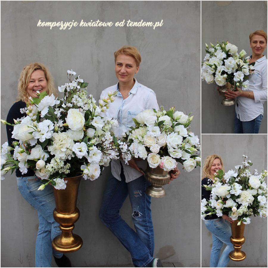 Eleganckie Kompozycje Ze Sztucznych Kwiatow Z Pracowni Tendom Silk Flowers Floral Shop Flower Boxes