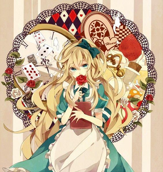 Tags Anime Alice In Wonderland Pixiv Alice Alice In