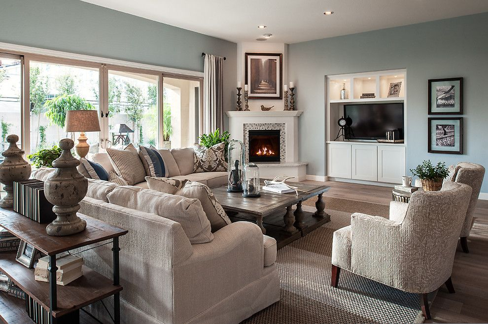 Pin By Tupo Wells On Final Selections Home Corner Fireplace Living Room Family Room Layout Livingroom Layout