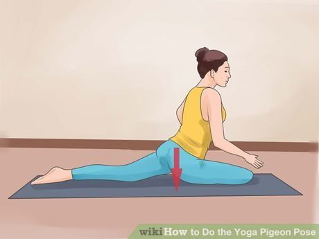 do the yoga pigeon pose
