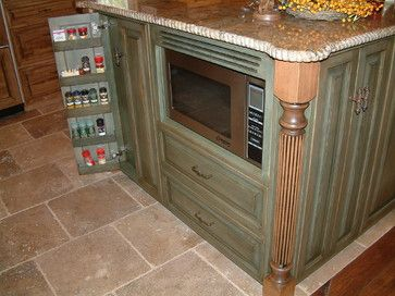 Wood and Color Kitchen - traditional - Kitchen - Other Metro - Polly Blair