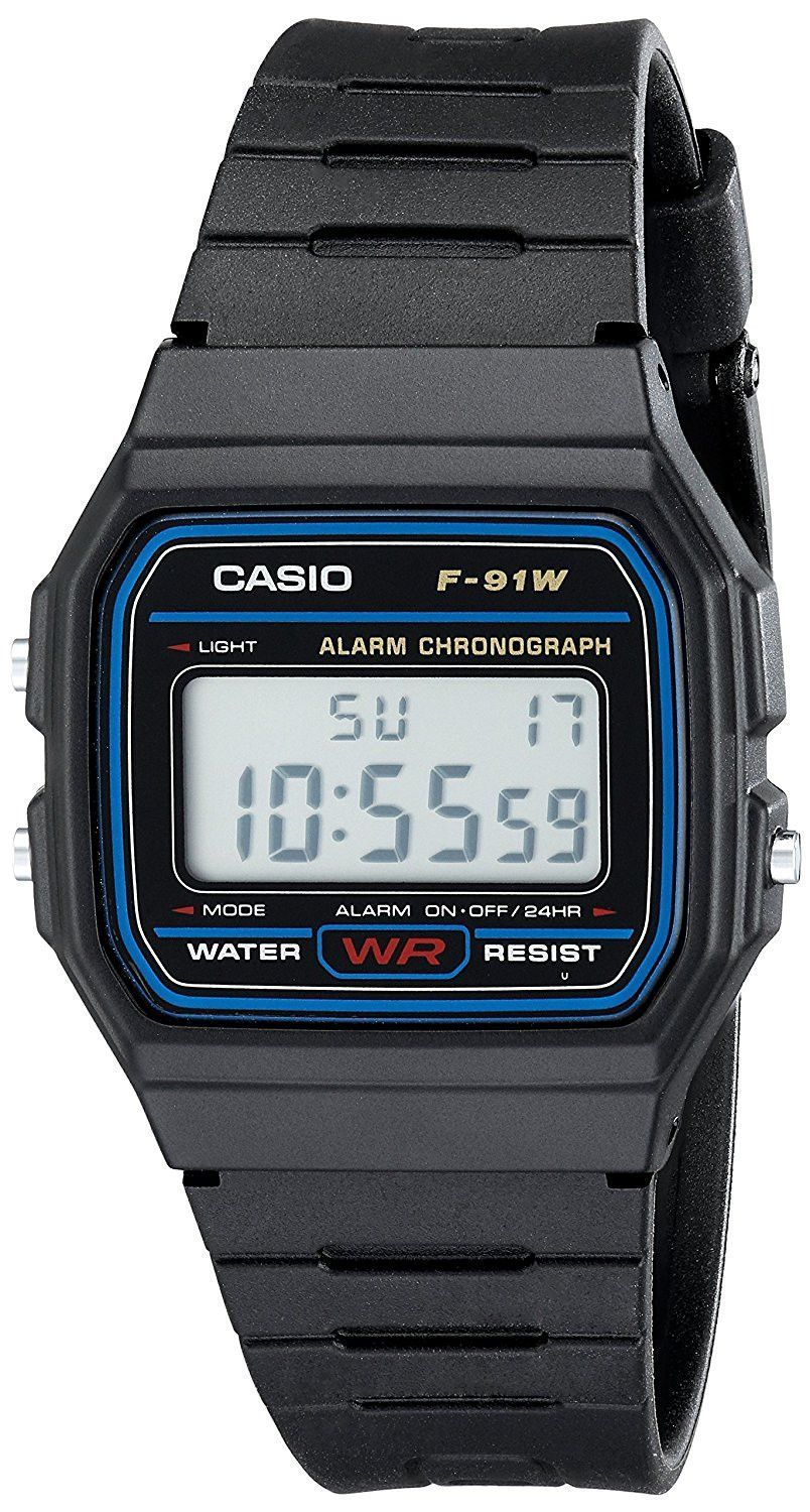85f0548924b Casio F91W 1 Classic Resin Strap Digital Sport Watch