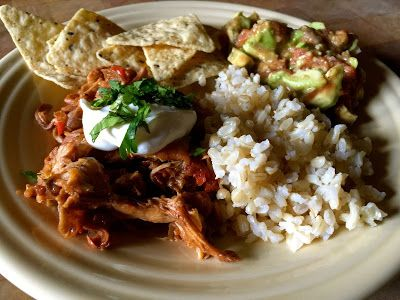 Husband Tested Recipes From Alice's Kitchen: Slow-Cooked Tex-Mex Chicken and Beans