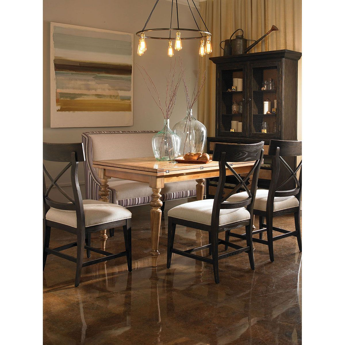 Fairfield Chair Company Dining Room Delano Side Chair 5434 ...