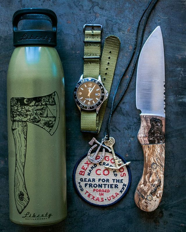 Gearfor the modern day urban Frontier. Nylon NATO straps, jewelry, knives now up on the webshop // www.bexargoods.com