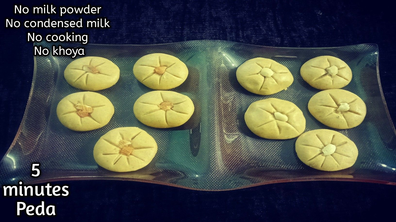 Instant Peda Recipe No Cook 5 Minutes Peda No Milk Powder No Condensed Milk No Cooking Peda In 2020 Peda Recipe Peda Powdered Milk