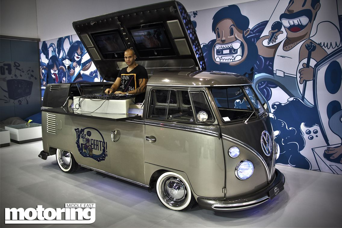 The Ultimate Dj Box A Vw Camper Highly Modified And Very Original Vintage Vw Van Vw Bus Dj Booth