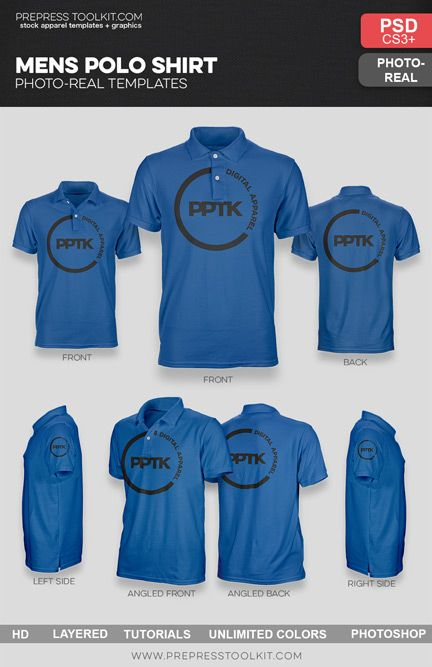 Introducing our Photoshop Men s Polo Shirt Mockup Templates Pack  the  perfect addition to your mockup template arsenal. This template pack  includes ... d6114208b