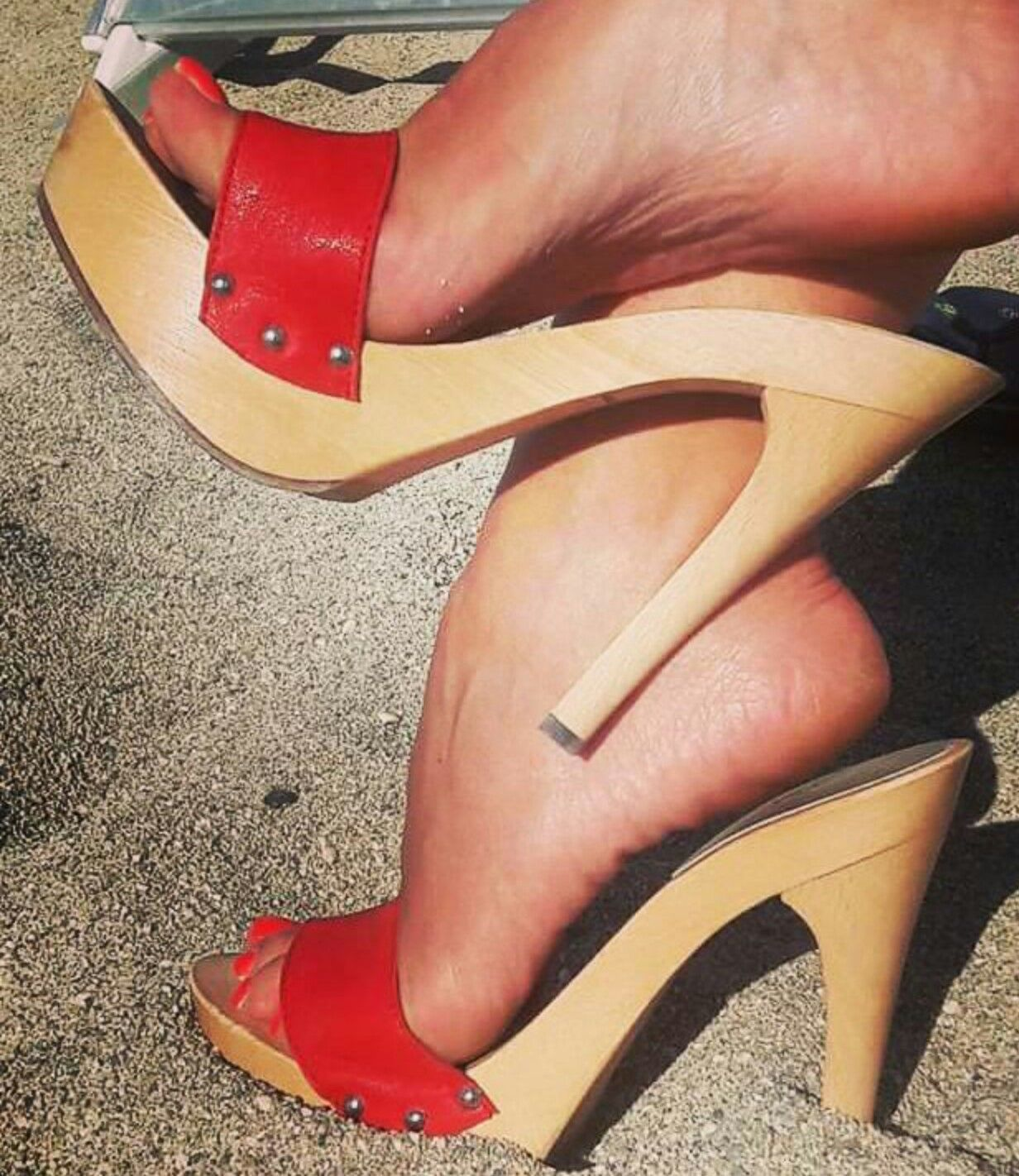 a3f11887f5dde2 Pin by Heel and wedges Wooden on wooden heels