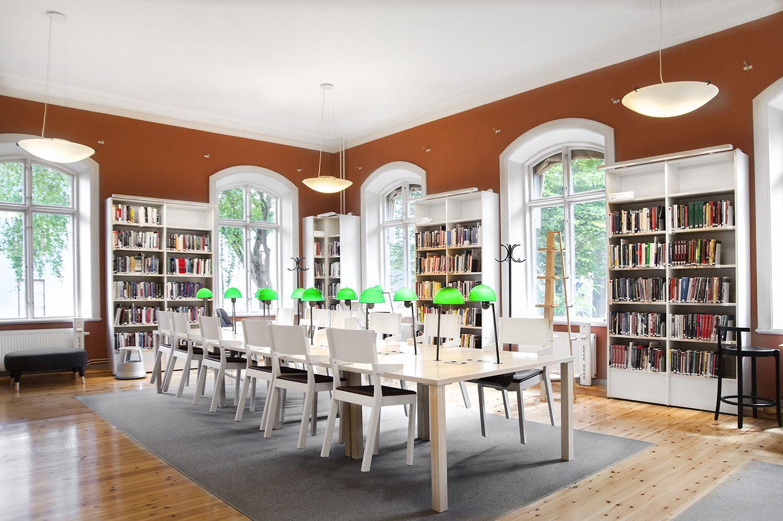 modern library furniture. DAG HAMMARSKJÖLD LIBRARY, SWEDEN Modern Library Furniture