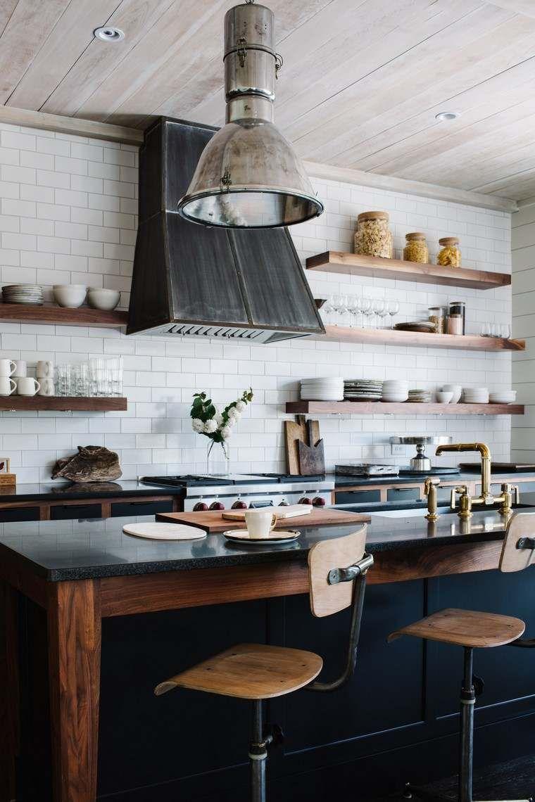 Küchenideen und designs industrielle küche authentischer charme und eleganz in