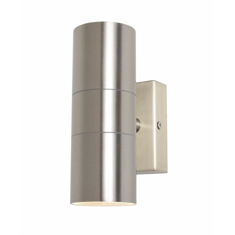 Leto Up Down Gu10 Wall Light Stainless Steel Outdoor Wall Lighting Modern Outdoor Wall Lighting Wall Lights