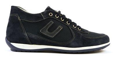 Camosico 306 stylischer italienischer Sneaker Leder Textil blau http://stores.ebay.de/Feine-Produkte