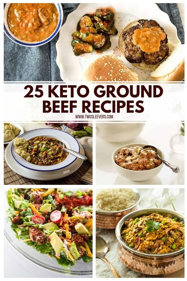 25 Keto Ground Beef Recipes images