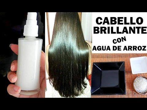 para que sirve el agua de arroz en el cabello