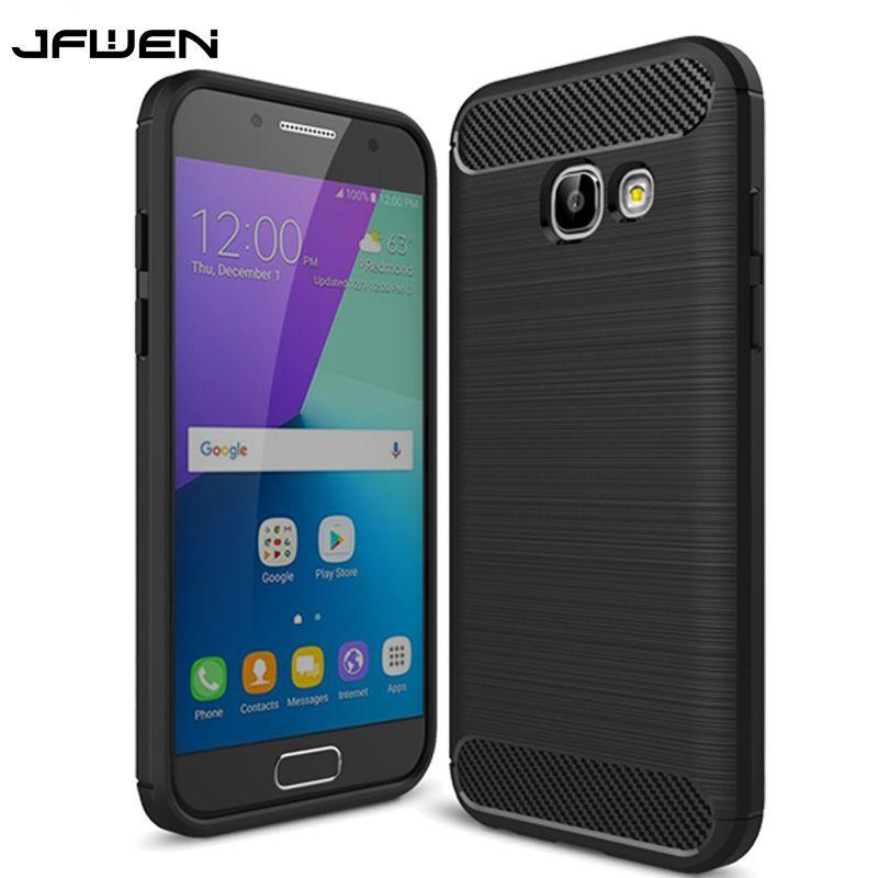 For Fundas Samsung Galaxy A3 2017 Case Silicone Soft TPU Cover For Coque  Samsung Galaxy A3 2017 Cover Carbon Fiber Phone Cases 1432b7abe289