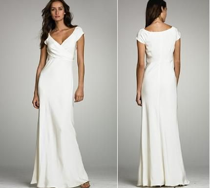 Casual White Wedding Dresses