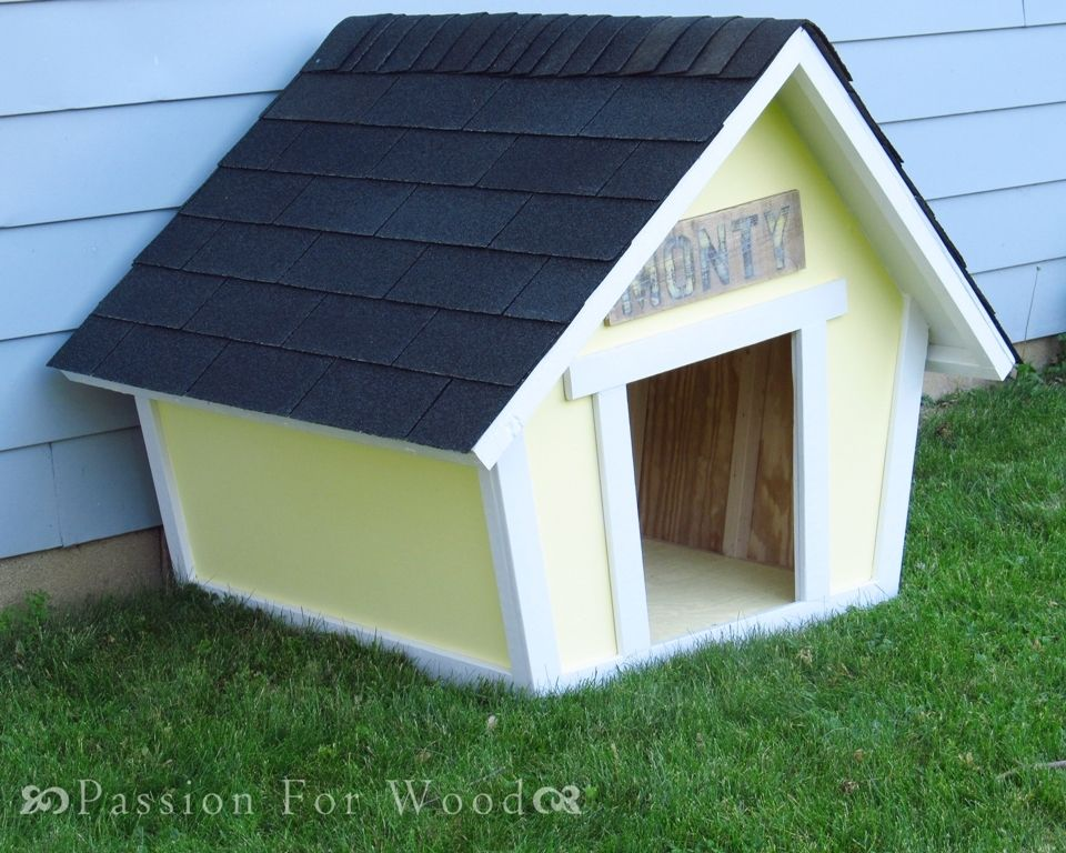 Crooked Doghouse Dog Houses Dog House Plans Easy Diy Projects