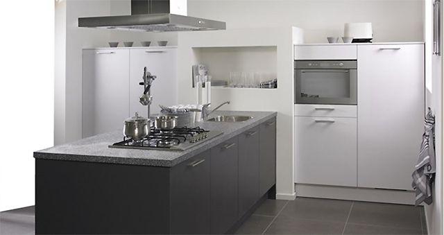 Kleine keuken design: zijn donkere kleuren geschikt voor kleine