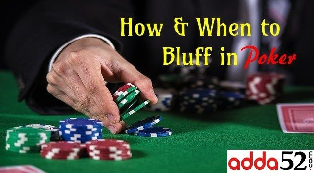 How often to bluff in poker poker free