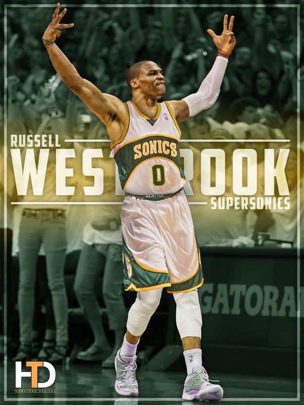 c492452081f Russell Westbrook. Last Sonics first round draft pick.