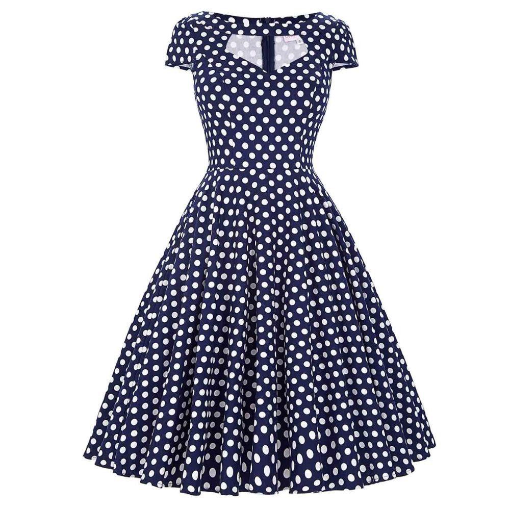 Vintage Party Swing Dresses | Lunares, Vestiditos y Ropa