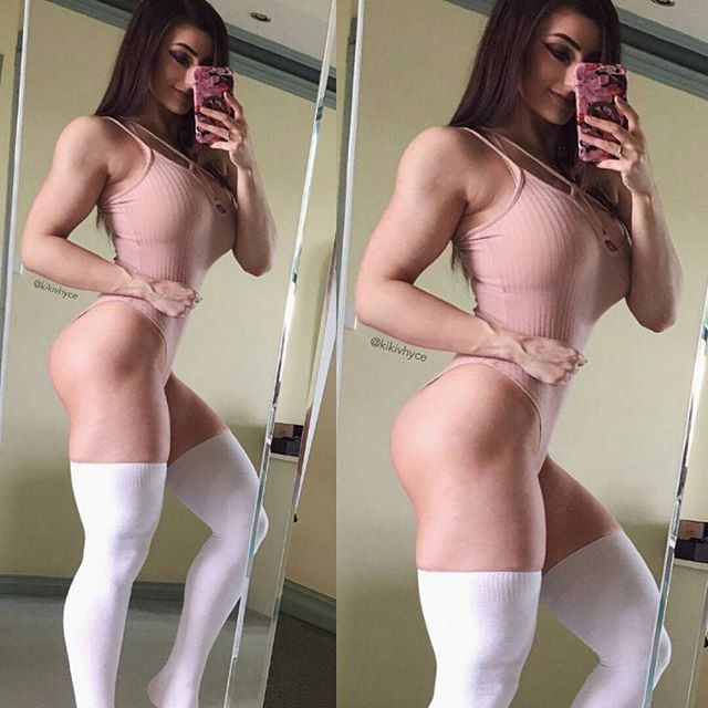 MUSCULAR GLUTES & AMAZON THIGHS of sexy #Fitness model : Health, Exercise & #Fitspo - the best #Inspirational & #Motivational Pins by: http://cagecult.com/mma