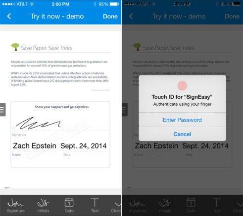 AWESOME: This iOS 8 app found a great new way to use the iPhone's fingerprint scanner click here:  http://infobucketapps.com