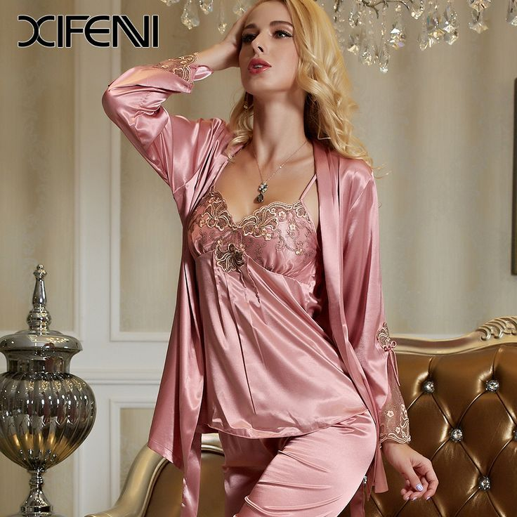 Image result for women\'s nightgown and robe sets | Vanya and Sonia ...