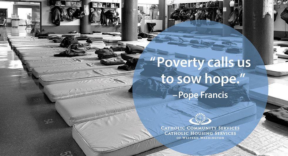 Pope Francis Western washington, Community service, Catholic