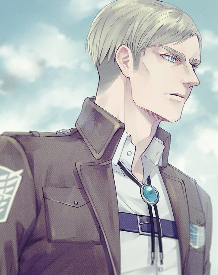 Erwin Smith (With images) Attack on titan, Erwin, Titans
