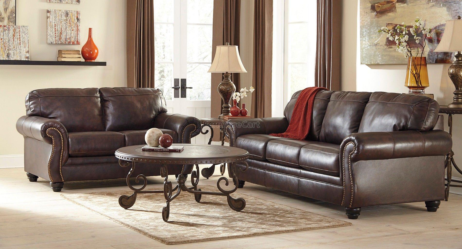 Bristan Walnut Living Room Set Signature Design Luxury Sofa Design Living Room Leather Walnut Living Room