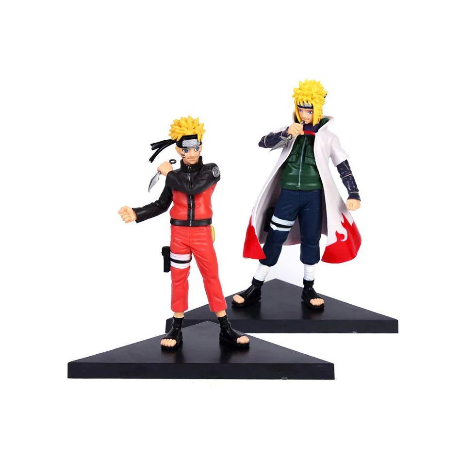 Xinduplan 2pcs Naruto Anime Uzumaki Naruto Fourth Hokage Namikaze