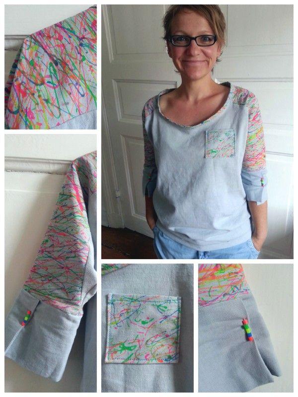 easy-peasy-shirt   top   Pinterest   Nähen, Schnittmuster und Shirts ...