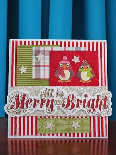 Stampinggranny - Ankie: Merry and bright