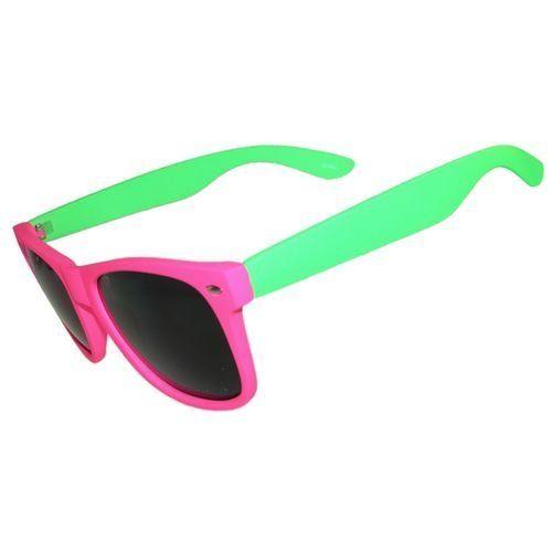 Neon Velvety Touch Sunglasses Fabulous Style