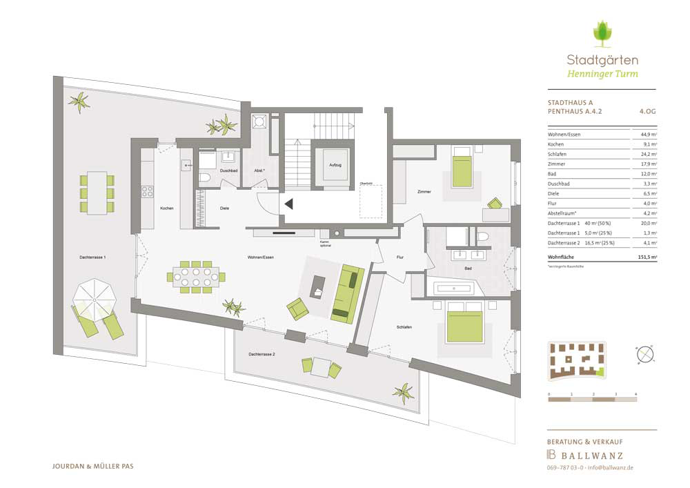 grundrisse und baupl ne zum bauvorhaben stadtg rten henninger turm architekten pinterest. Black Bedroom Furniture Sets. Home Design Ideas