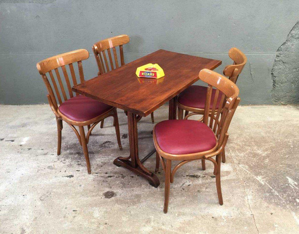 Ensemble 22 Chaises Bistrot Style Baumann Chaise Bistrot Chaise Table Salle A Manger