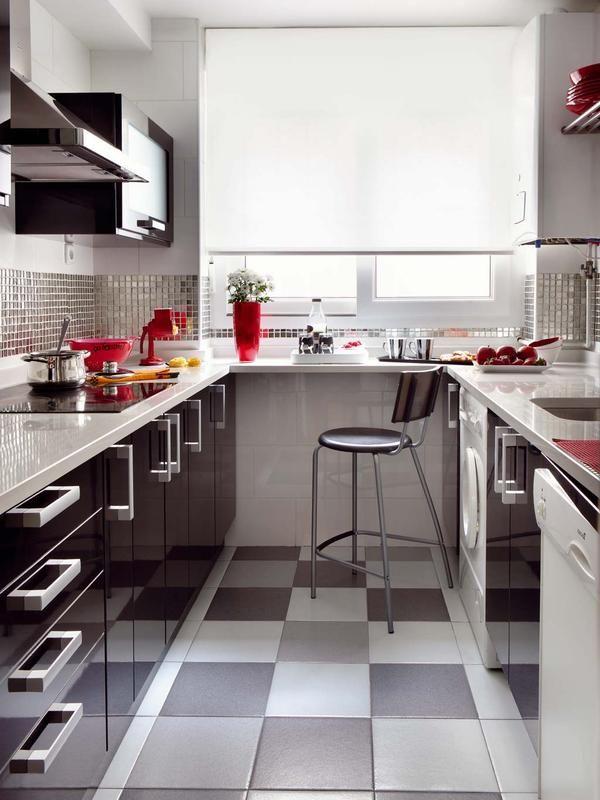 Ideas para organizar la cocina decoraci n cocina for Distribucion casa alargada
