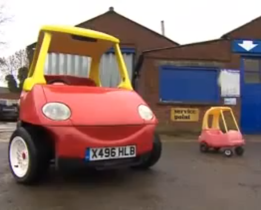 that toy car that almost every kid in the world loves is has been made into