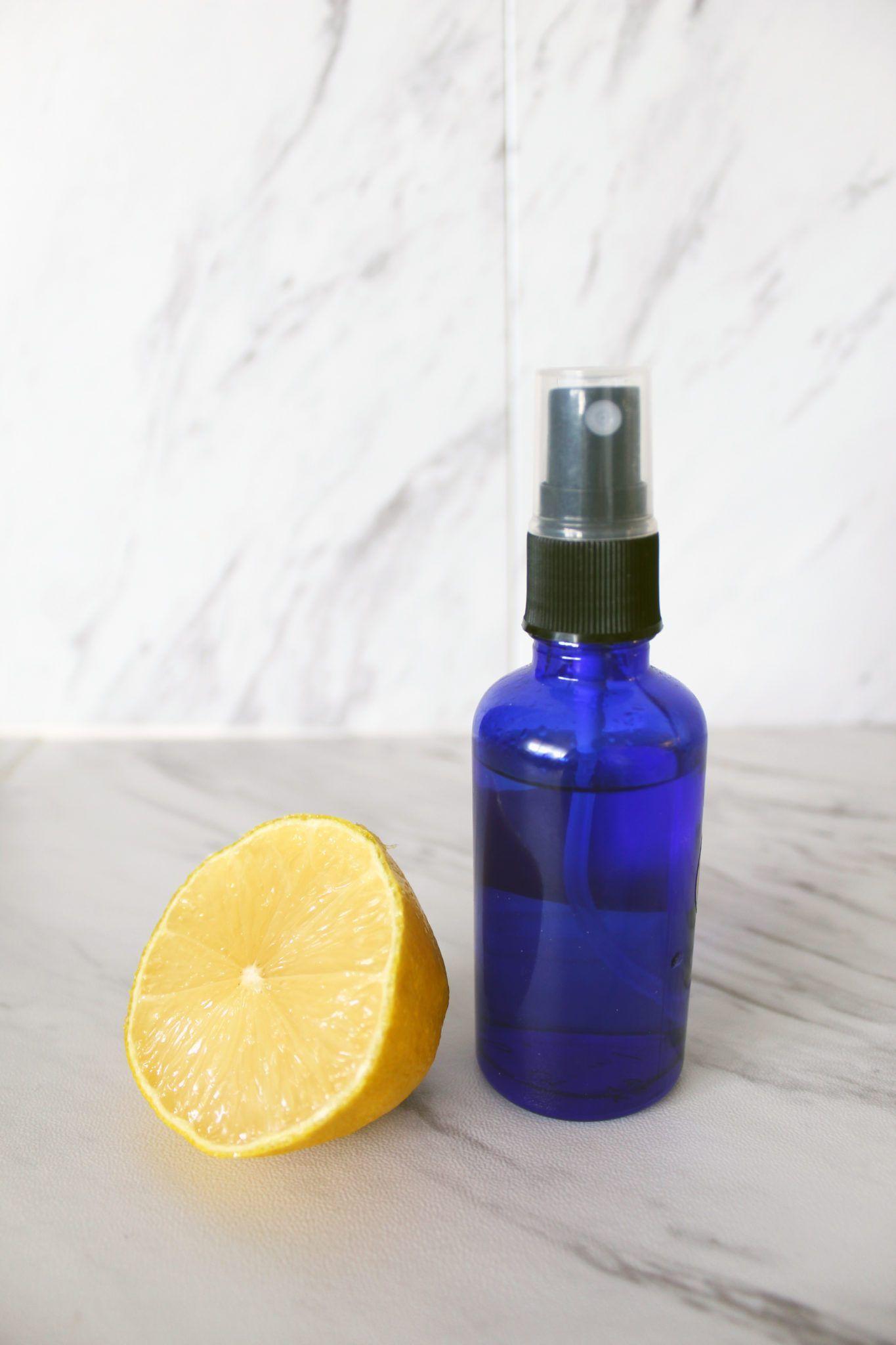 Make This DIY Witch Hazel & Lemon Skin Toner (With images