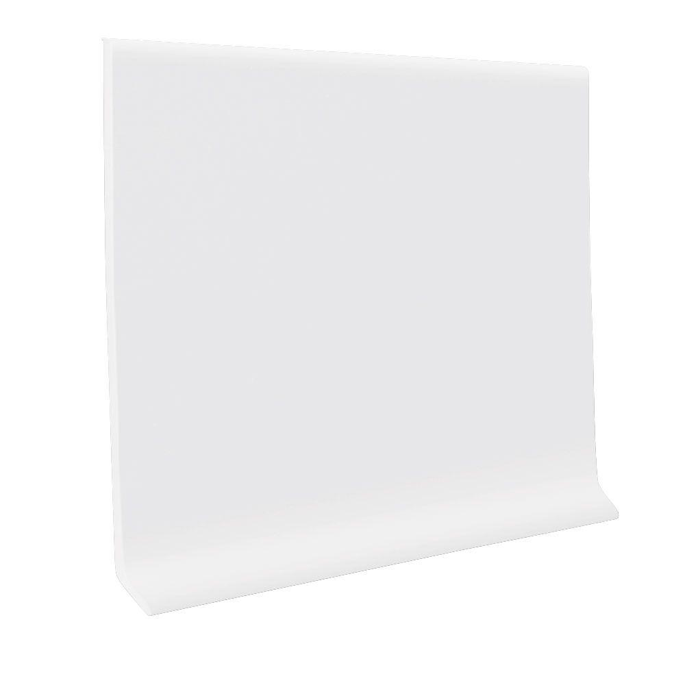 Roppe Vinyl Snow 4 In X 080 In X 120 Ft Wall Cove Base Coil Hc40c54p161 The Home Depot Cove Base Vinyl Wall White Vinyl Flooring
