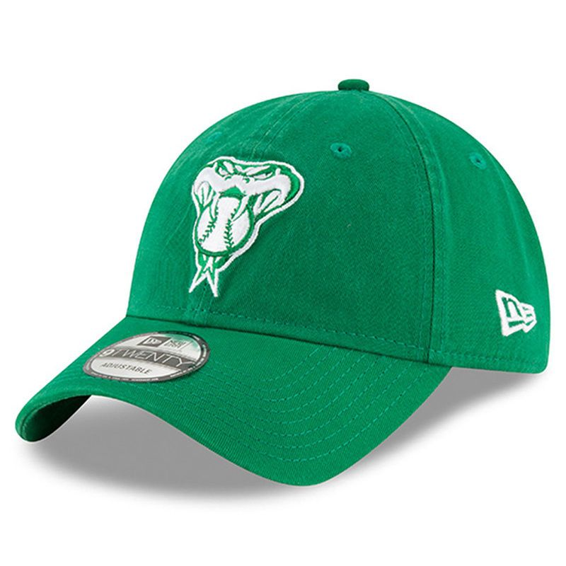 f6fef1a867b Arizona Diamondbacks New Era Women s 2018 St. Patrick s Day Prolight  9TWENTY Adjustable Hat – Green