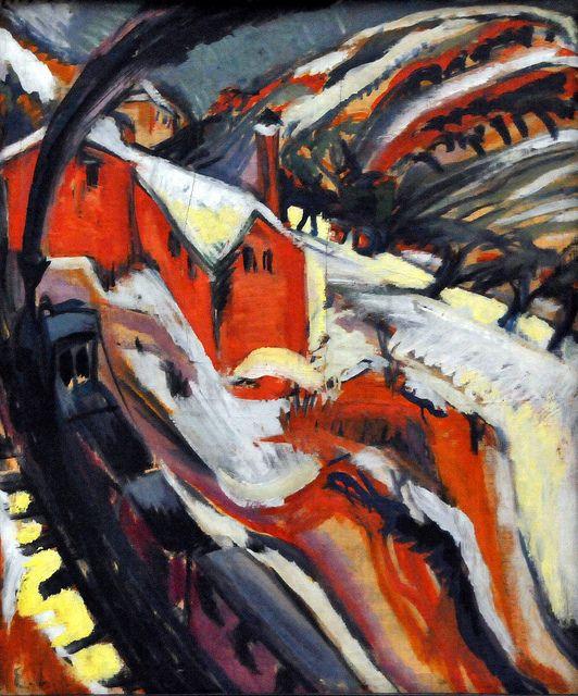 Kunstkarte Ernst Ludwig Kirchner Dodo am Tisch