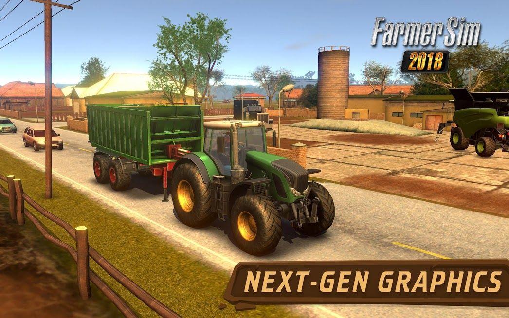 Farmer Sim 2018 Farming simulator, Farming simulator 14