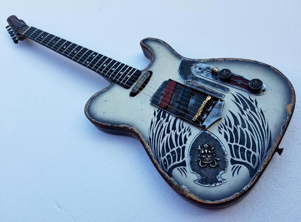 Scala Guitars T Rod Diamonds Rust Guitars Pinterest Guitar