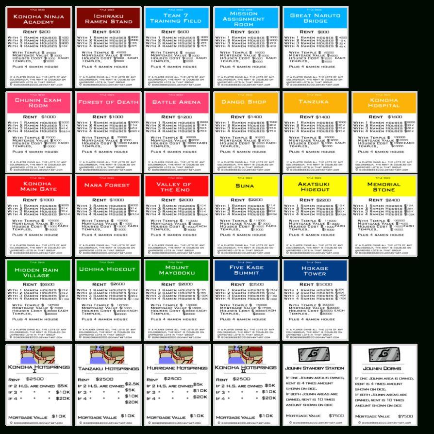 Original Monopoly Property Cards Printable Monopoly Cards With Regard To Monopoly Property Card Templat Monopoly Cards Printable Cards Business Plan Template