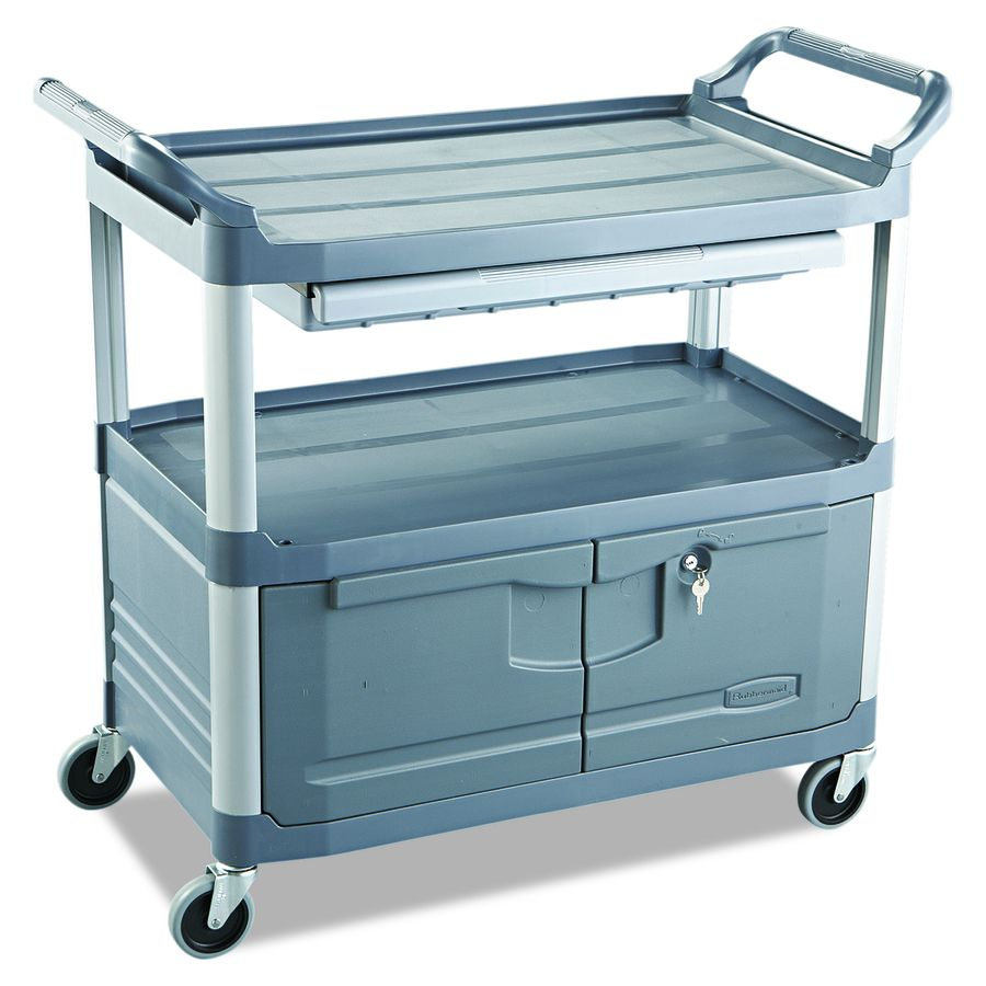 Rubbermaid Commercial Products 37 8 In 1 Drawer Utility Cart