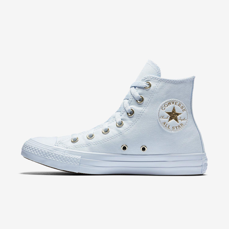 93d91a8b934 Converse Chuck Taylor All Star Mono Glam High Top Women's Shoe. Nike.com