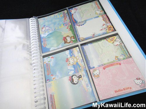 Hello Kitty Regional Memos from MyKawaiiLife.com